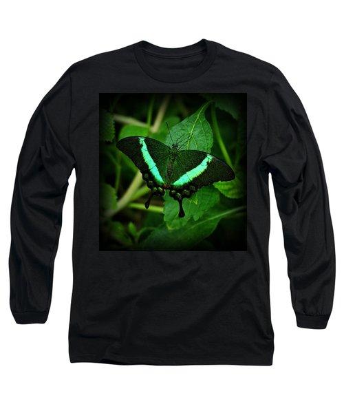 Emerald Swallowtail Long Sleeve T-Shirt