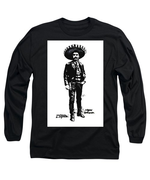 Emiliano Zapata Long Sleeve T-Shirt