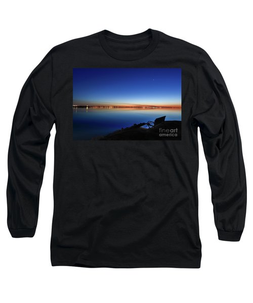 Empty Seat Watching The Moon Long Sleeve T-Shirt