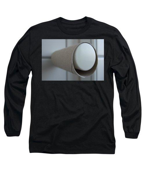 Empty Toilet Paper Roll Long Sleeve T-Shirt
