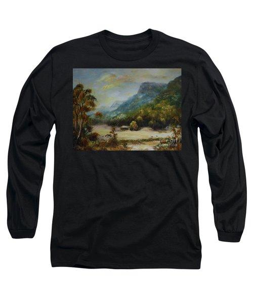 Emu Plains, Grampians Long Sleeve T-Shirt