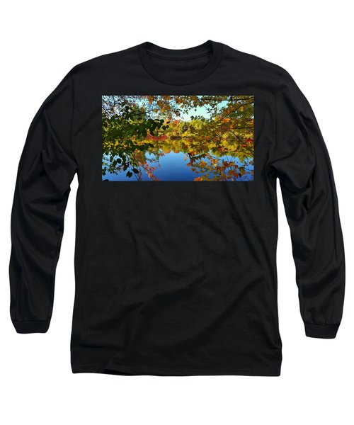 Long Sleeve T-Shirt featuring the photograph Enchanted Fall by Valentino Visentini