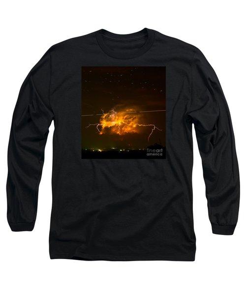 Enchanted Rock Lightning Long Sleeve T-Shirt
