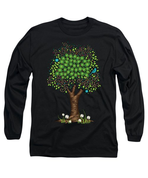Enchanted Tree Long Sleeve T-Shirt by Serena King