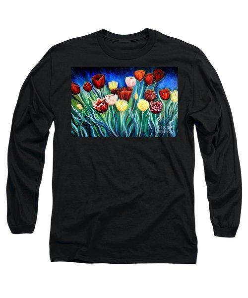 Enchanted Tulips Long Sleeve T-Shirt