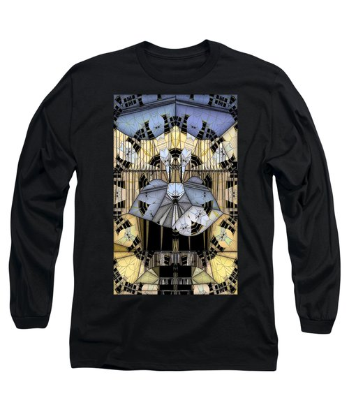 Enclosed Long Sleeve T-Shirt by Ron Bissett