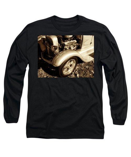 End Of Season Bw Long Sleeve T-Shirt