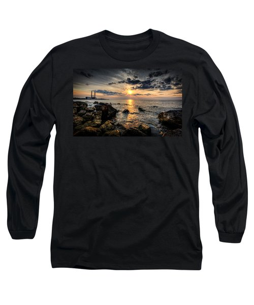 End Of The Day Long Sleeve T-Shirt by Everet Regal
