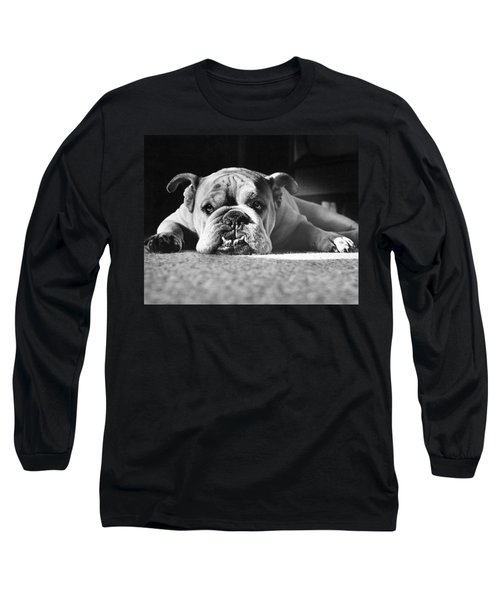 English Bulldog Long Sleeve T-Shirt