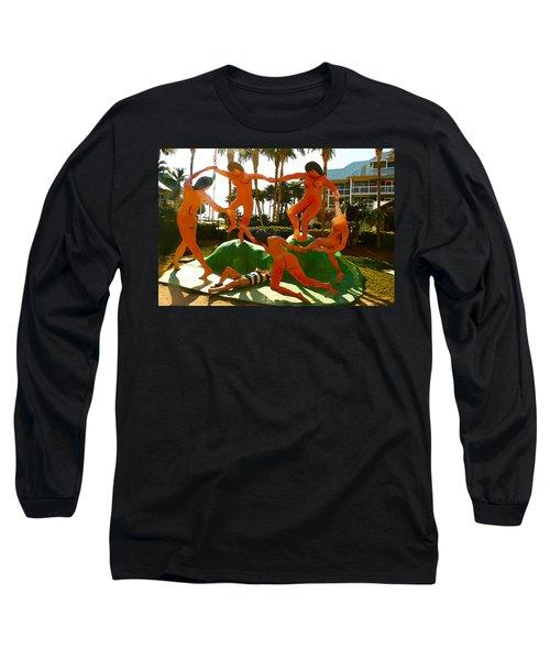Enjoying  Key West Long Sleeve T-Shirt