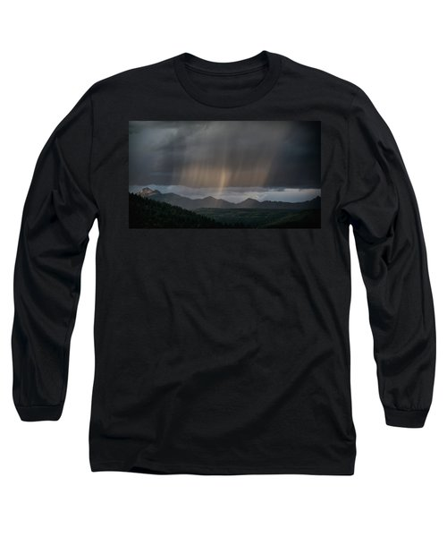Enlightened Shafts Long Sleeve T-Shirt by Jason Coward