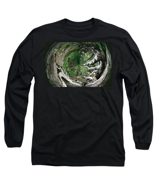 Enter The Root Cellar Long Sleeve T-Shirt by Gary Smith