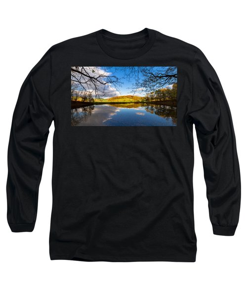 Erdfallsee, Harz Long Sleeve T-Shirt