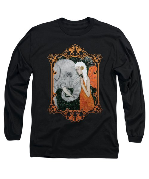 Erynn Rose Long Sleeve T-Shirt by Natalie Briney