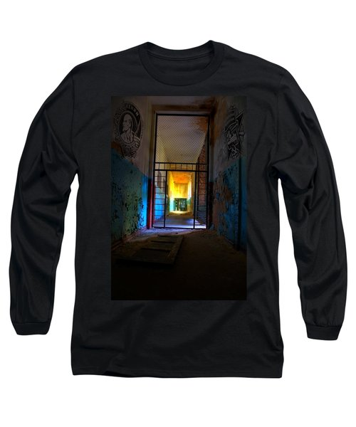Escaped Long Sleeve T-Shirt by Nathan Wright