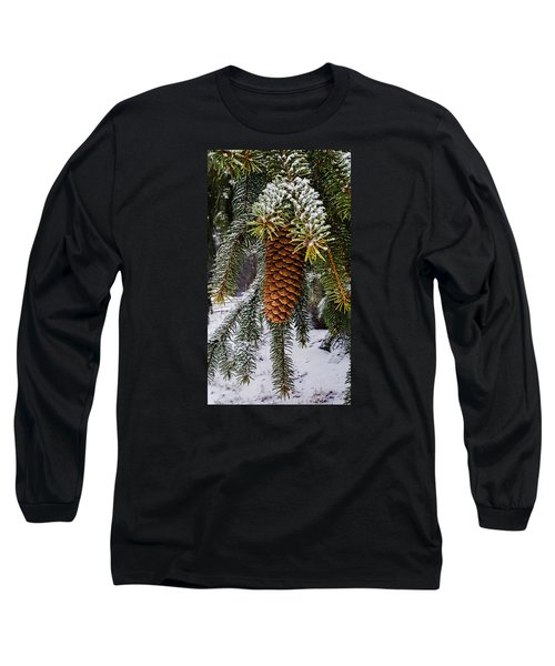Long Sleeve T-Shirt featuring the photograph Essence Of Winter  by Bruce Carpenter