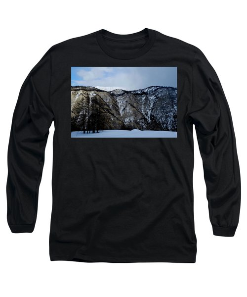 Long Sleeve T-Shirt featuring the photograph Eternal Snow Mountain by August Timmermans