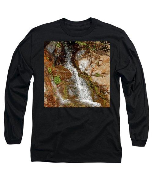 Etiwanda Waterfalls Long Sleeve T-Shirt