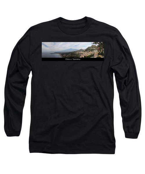 Etna E Taormina Long Sleeve T-Shirt