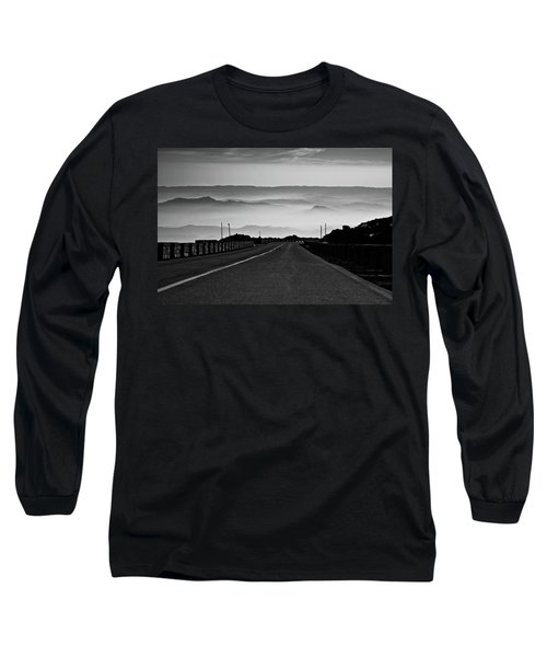 Long Sleeve T-Shirt featuring the photograph Etna Road by Bruno Spagnolo