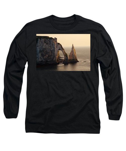 Etretat In Morning Sun Long Sleeve T-Shirt