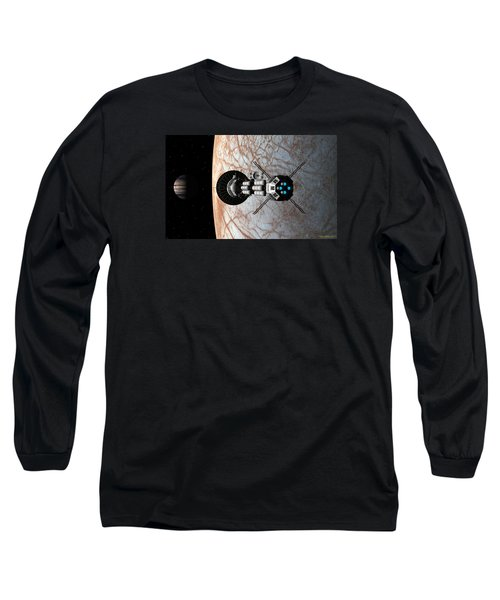 Long Sleeve T-Shirt featuring the digital art Europa Insertion by David Robinson