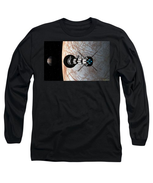 Europa Insertion Long Sleeve T-Shirt