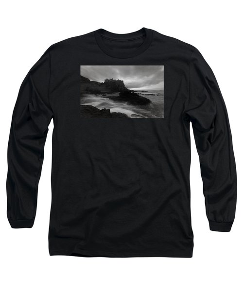 Evening At Dunluce Long Sleeve T-Shirt by Roy  McPeak