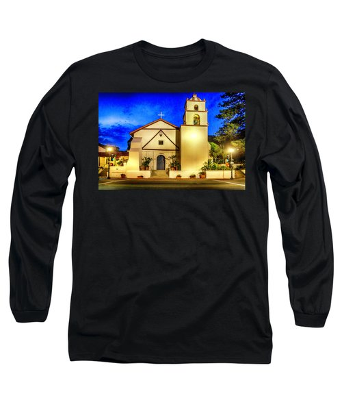 Evening At Mission San Buenaventura Long Sleeve T-Shirt