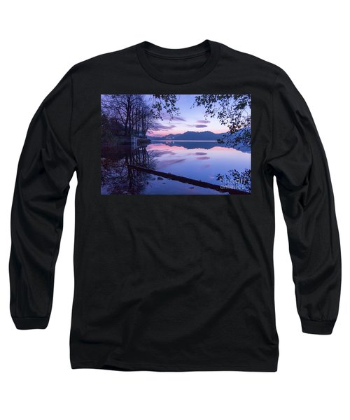 Evening By The Lake Long Sleeve T-Shirt