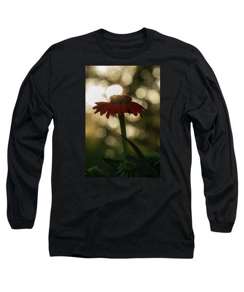 Evening Elegance Long Sleeve T-Shirt
