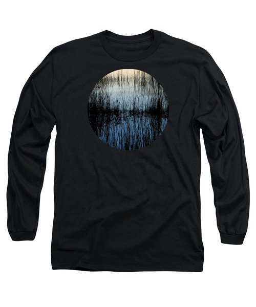 Evening Glow Long Sleeve T-Shirt by Mary Wolf