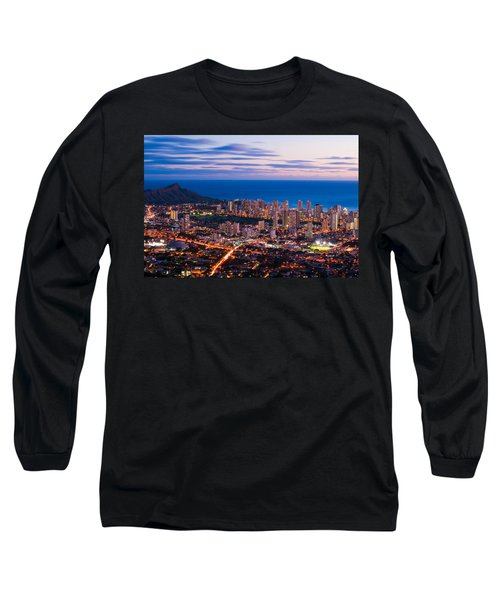 Evening In Honolulu Long Sleeve T-Shirt