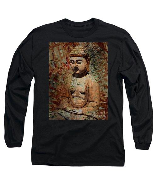 Evening Meditation Long Sleeve T-Shirt by Christopher Beikmann