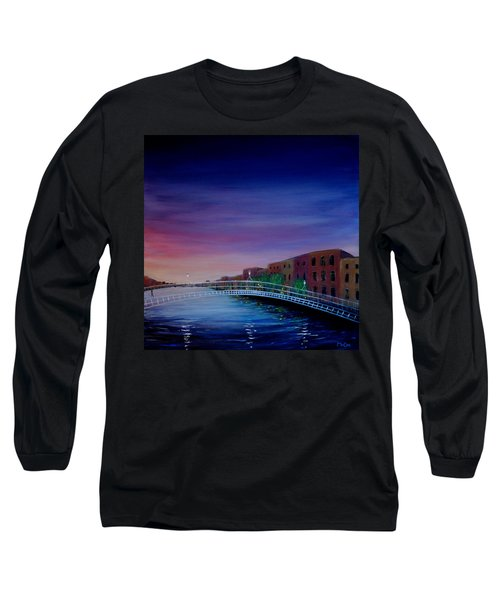 Evening Reflections Dublin  Long Sleeve T-Shirt