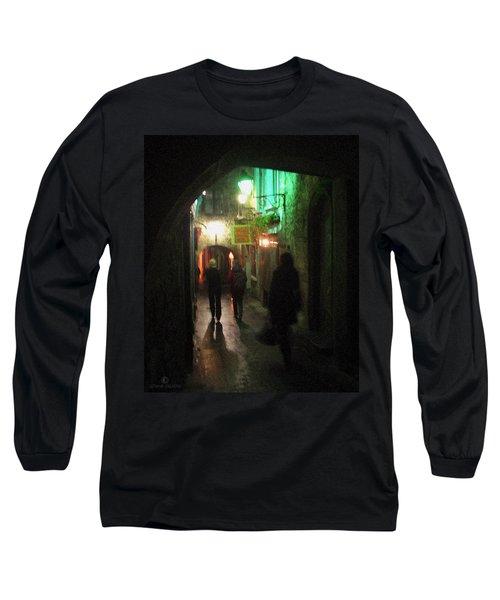 Evening Shoppers Long Sleeve T-Shirt