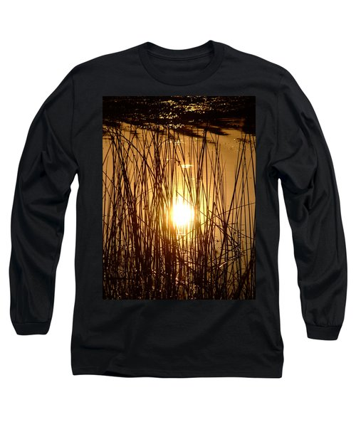 Evening Sunset Over Water Long Sleeve T-Shirt