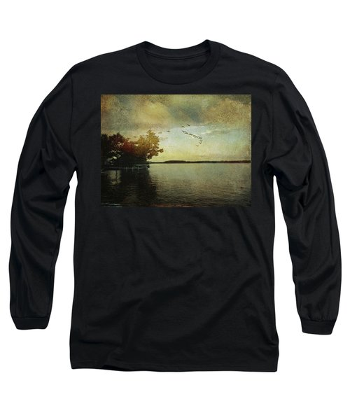 Evening, The Lake Long Sleeve T-Shirt
