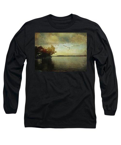 Evening, The Lake Long Sleeve T-Shirt
