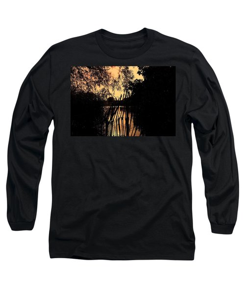 Evening Time Long Sleeve T-Shirt by Keith Elliott