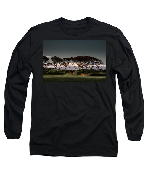 Dusk At Fort Fisher Long Sleeve T-Shirt by Phil Mancuso