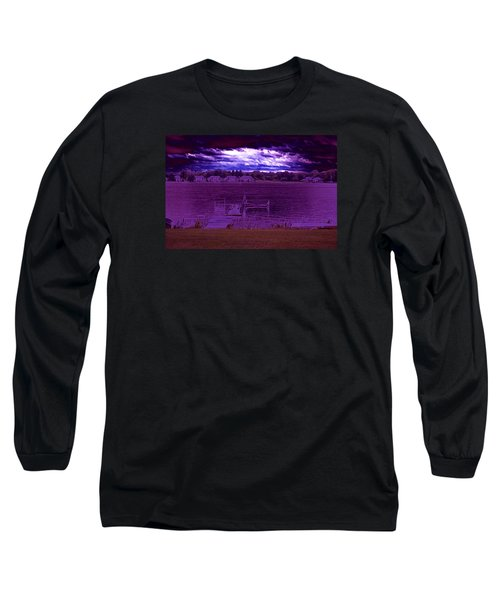 Event At The Bay Long Sleeve T-Shirt by Jake Whalen