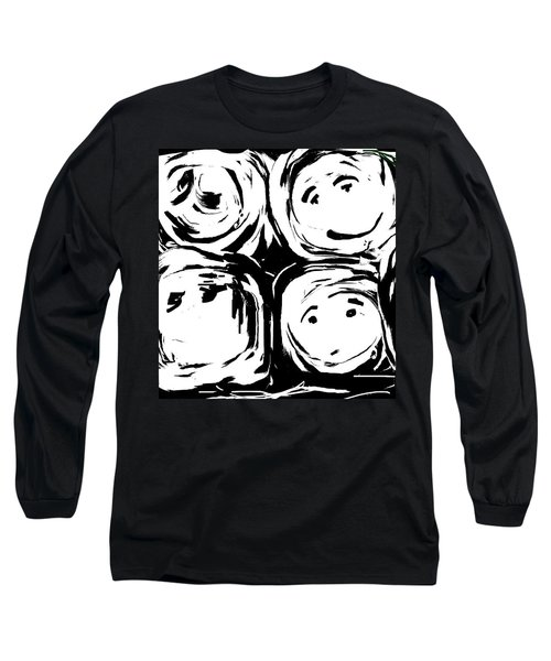 Ever-advancing Expression Of The Eternal Long Sleeve T-Shirt by Danica Radman