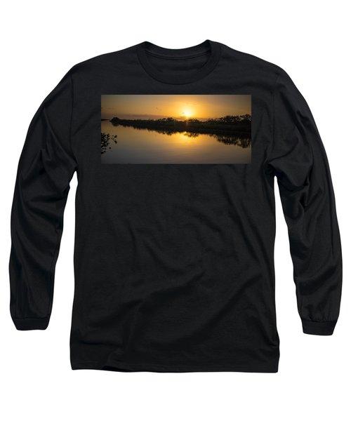 Everglades Sunset Long Sleeve T-Shirt