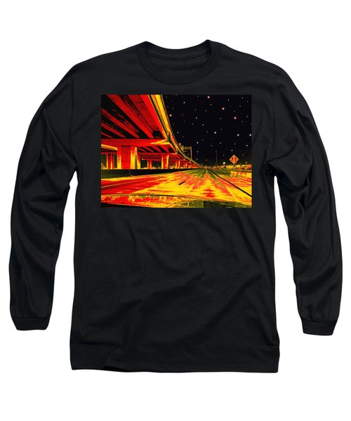Long Sleeve T-Shirt featuring the digital art Are We There Yet by Wendy J St Christopher