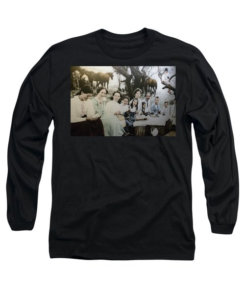 Long Sleeve T-Shirt featuring the photograph Every Day Life In Nation In Making by Miroslava Jurcik