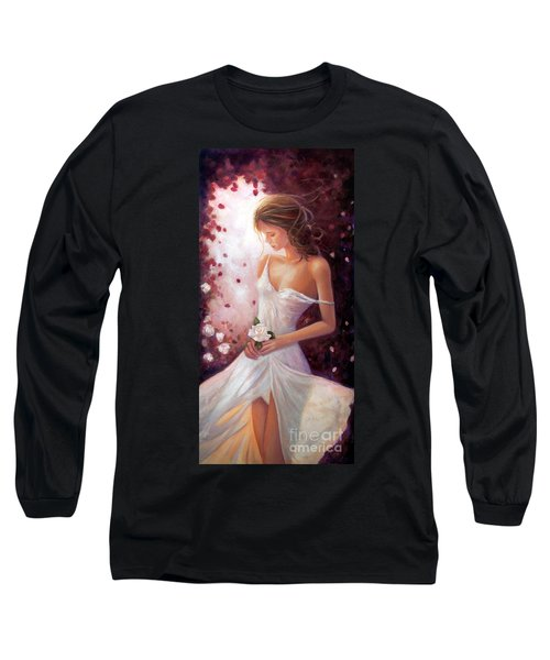 Evocative Scent Of A Summer Rose Long Sleeve T-Shirt by Michael Rock