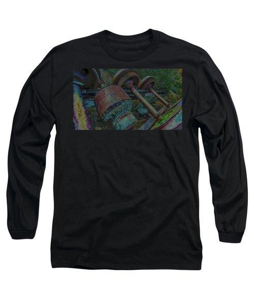 Evolution Is A Smoke Screan 2  Long Sleeve T-Shirt