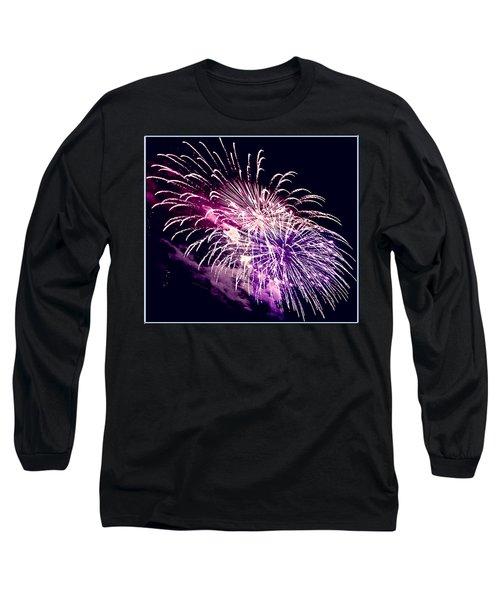 Exploding Stars Long Sleeve T-Shirt