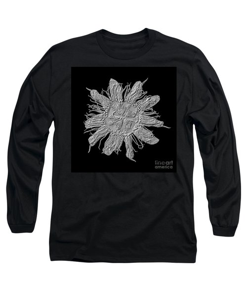 Expressive Passion Flower Manipulation 50674k3 Long Sleeve T-Shirt